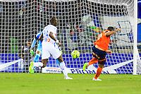 Goal Kevin BERIGAUD - 09.01.2015 - Montpellier / Marseille - 20eme journee de Ligue 1<br />Photo : Nicolas Guyonnet / Icon Sport