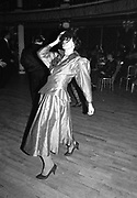 Lady Henrietta Rous dancing at the Charity Ball in aid of Centrepoint. Cafe de Paris. 16 December 1986. © Copyright Photograph by Dafydd Jones 66 Stockwell Park Rd. London SW9 0DA Tel 020 7733 0108 www.dafjones.com