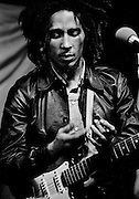 Bob Marley at rehearsal for Whistle Test at Island Studios