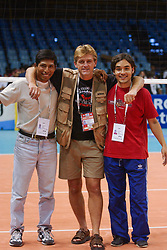 01-10-2002 ARG: World Championships, Salta<br /> VIP, crew, organization, Ronald<br /> <br /> WORLD CHAMPIONSHIP VOLLEYBALL 2002 ARGENTINA<br /> SALTA / 01-10-2002