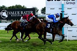 Aryaaf ridden by Jim Crowley trained by Simon Crisford wins the Nursery Handicap - Mandatory by-line: Robbie Stephenson/JMP - 27/08/2019 - PR - Bath Racecourse - Bath, England - Race Meeting at Bath Racecourse