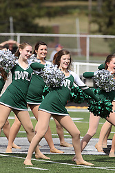 28 September 2013:  IWU Dancers during an NCAA division 3 football game between the Hope College Flying Dutchmen and the Illinois Wesleyan Titans in Tucci Stadium on Wilder Field, Bloomington IL