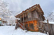 Old house in village of Brashlyan