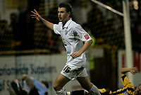 Photo: Marc Atkins.<br />Boston United v Hereford United. Coca Cola League 2. 25/11/2006. Andy Williams scores for Hereford.