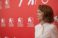Jessica Harper at the photocall for the film Suspiria at the 75th Venice Film Festival, on Saturday 1st September 2018, Venice Lido, Italy.