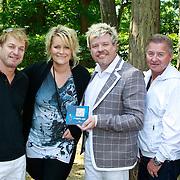 NLD/Hilversum/20110603 - CD presentatie Rene Karst, Tony Neef Erikah en Rene Karst, Jan Keizer en Joeri Plaizier