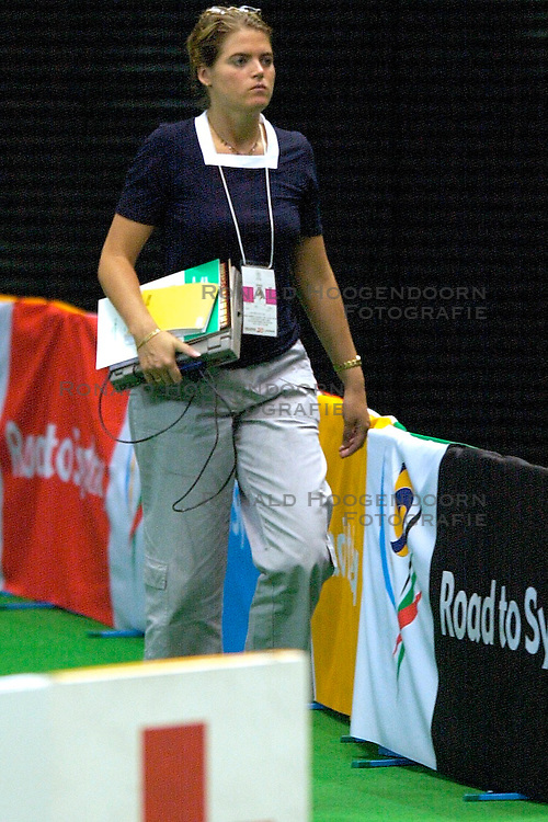 17-06-2000 JAP: OKT Volleybal 2000, Tokyo<br /> Nederland - Italie 2-3 / Cilya van der Kooy