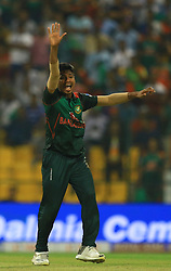 September 27, 2018 - Abu Dhabi, United Arab Emirates - Bangladesh cricketer Mustafizur Rahman  during the Asia Cup 2018 cricket match  between Bangladesh and Pakistan at the Sheikh Zayed Stadium,Abu Dhabi, United Arab Emirates on September 26, 2018  (Credit Image: © Tharaka Basnayaka/NurPhoto/ZUMA Press)