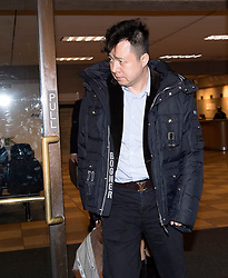 Liu Xiaozong, husband of Meng Wanzhou, Huawei's chief financial officer, leaves a B.C. courthouse following a bail hearing for his wife on Monday, December 10, 2018 in Vancouver, BC, Canada. Photo by Jonathan Hayward/CP/ABACAPRESS.COM