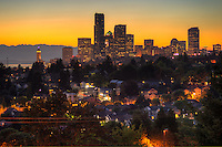 Seattle @ Sunset in September