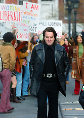 Ewan McGregor as Designer filming Simply Halston - 21 Feb 2020
