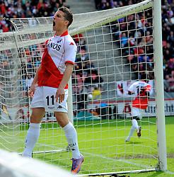 16-05-2010 VOETBAL: FC UTRECHT - RODA JC: UTRECHT<br /> FC Utrecht verslaat Roda in de finale van de Play-offs met 4-1 en gaat Europa in / Dries Mertens<br /> ©2010-WWW.FOTOHOOGENDOORN.NL