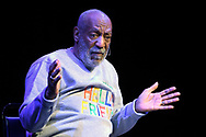 Bill Cosby performs during a show at the Maxwell C. King Center for the Performing Arts in Melbourne, Fla., Friday, Nov. 21, 2014.(AP Photo/Phelan M. Ebenhack)