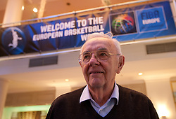 Borislav Stankovic at Eurobasket 2013 Candidate presentation of Slovenia at FIBA EUROPE Board on December 05, 2010 in Munich, Germany. The Board decided that Eurobasket 2013 will be held in Slovenia. (Photo By Vid Ponikvar / Sportida.com)