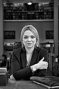 Sunita Memetovic, Serbian Arli Roma living in Sweden, where she studies law at Uppsala University