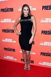 September 12, 2018 - Los Angeles, Kalifornien - Bonnie-Jill Laflin beim Special Screening des Kinofilms 'The Predator / Predator - Upgrade' im Egyptian Theatre. Los Angeles, 12.09.2018 (Credit Image: © Future-Image via ZUMA Press)