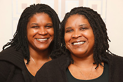 Portrait of identical twins.