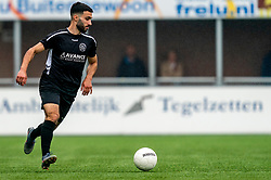 Serkan Yasar of VV Maarssen in action. First friendly match after the Corona outbreak. VV Maarssen lost the away match against big league Spakenburg 5-1 on 4 July 2020 in Spakenburg.