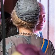 NLD/Den Haag/20170919 - Prinsjesdag 2017, Hoed koningin Maxima