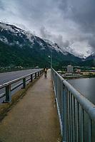Crossing Douglas Bridge