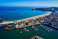 France, Pyrénées-Atlantiques (64), Pays Basque, baie de Saint-Jean-de-Luz // France, Pyrénées-Atlantiques (64), Basque Country, bay of Saint-Jean-de-Luz
