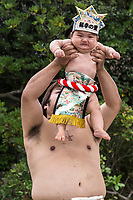"On your mark, get set, now SCREAM!  Nakizumo is a 400 year old event that appears to be based on the proverb ""crying babies grow faster"".   Babies less than 1 year old are brought to the shrine, flung into the air, screamed and made faces at by sumo wrestlers and Shinto priests (or gyoji sumo referees) usually two at a time.  Whichever baby screams first or loudest is declared the winner, though there is no real prize. At first this ritual may appear to be cruel, making babies cry, but it is all in good fun at least for the adults.  It is also believed that the ceremony, which involves purification before the crying part, will enable babies to grow up stronger and healthier, so it's all for the best.  The screaming sobs are also supposed to ward off evil spirits.   For good measure, both babies are hoisted high into the air by the wrestlers so that their screams will be closer to heaven, which will intensify the blessing."