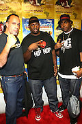 PopMaster Fabel and EPMD at The 2008 Black August Benefit Concert held at BB Kings on August 31, 2008..2008 begins the second decade of Black August Hip Hop Project benefit concerts which assist and support Political Prisoners. The Malcolm X Grassroots Movement is an organization whose mission is to defend the human rights of people and promote self-determination in our community.