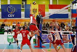 20170524 NED: 2018 FIVB Volleyball World Championship qualification, Koog aan de Zaan<br />Radoslav Presinsky (16) of Slovakia <br />©2017-FotoHoogendoorn.nl / Pim Waslander