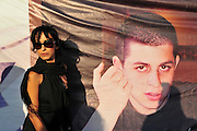 Rita Yahan-Farouz (stage name Rita), b. March 24, 1962 is an Israeli pop singer and actress. At a rally for the release of Gilad Shalit