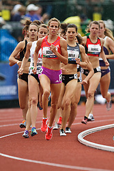 2012 USA Track & Field Olympic Trials: , women's 1500 meters, Morgan Uceny wins