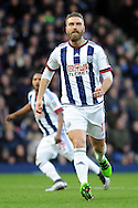 West Brom's Rickie Lambert in action. The Emirates FA Cup, 4th round match, West Bromwich Albion v Peterborough Utd at the Hawthorns stadium in West Bromwich, Midlands on Saturday 30th January 2016. pic by Carl Robertson, Andrew Orchard sports photography.