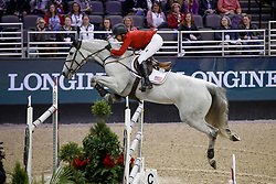 Kraut Laura, USA, Zeremonie<br /> Longines FEI World Cup Jumping Final III, Omaha 2017 <br /> © Hippo Foto - Dirk Caremans<br /> 02/04/2017