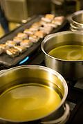 Belo Horizonte_MG, Brasil...Detalhe da panela utilizada na preparacao do menu no Festival Gastronomico Sabor e Saber...Detail of a saucepan used in menu preparation the Gastronomy Festival Sabor e Saber...Foto: BRUNO MAGALHAES / NITRO..
