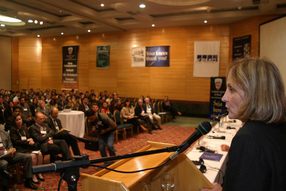 Belo Horizonte_MG, Brasil...Seminario sobre Alca da Camara de Comercio Americana (AMCHAM).  ..The workshop about Alca in American Chamber of Commerce for Brazil (AMCHAM)...Foto: LEO DRUMOND / NITRO