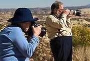 Photographers on Colorado Plateau, Utah, USA