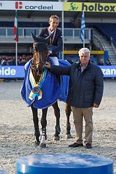Allen Bertram (IRL) - Barnike<br /> Final 7 years<br /> FEI World Breeding Jumping Championships for Young Horses - Lanaken 2014<br /> © Dirk Caremans
