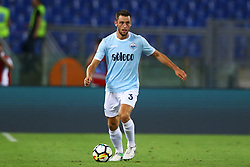 August 20, 2017 - Rome, Italy - Stefan de Vrij of Lazio during the Serie A match between SS Lazio and Spal at Olimpico Stadium on August 20, 2017 in Rome, Italy. (Credit Image: © Matteo Ciambelli/NurPhoto via ZUMA Press)