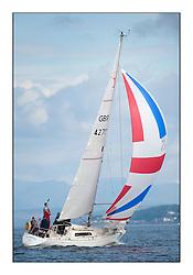 Largs Regatta Week - August 2012.GBR 4270, Sigmatic, Donald McLaren.
