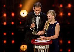 21-12-2016 NED: Sportgala NOC * NSF 2016, Amsterdam<br /> In de Amsterdamse RAI vindt het traditionele NOC NSF Sportgala weer plaats / Paralympisch zwemster Liesette Bruinsma is verkozen tot Paralympier van het jaar. <br /> Lodewijk Ascher