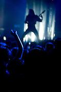 Paris, France. 4 Juin 2009.Les Naive New Beaters en concert a L'Elysee Montmartre..Le guitariste Martin Luther BB King..Paris, France. June 4th 2009..The Naive New Beaters performs at L'Elysee Montmartre..The guitarist Martin Luther BB King