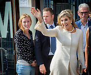 Queen Maxima attends jubilee  Foundation Participation, Integration and Equality, 28-09-2016