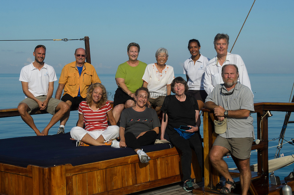 Group Photo Damai<br /> Cenderawasih Bay<br /> West Papua<br /> Indonesia