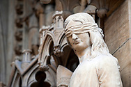 Sculpture on the portal of the cathedral in Metz, France © Rudolf Abraham