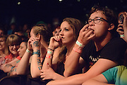 Atmosphere from AWOLNATION performing at the Pageant in St. Louis on June 30, 2013.