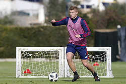 Matthijs de Ligt of Ajax during a training session of Ajax Amsterdam at the Cascada Resort on January 10, 2018 in Lagos, Portugal