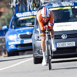 24-09-2014: Wielrennen: WK tijdrijden Elite mannen: Ponferrada<br /> WIELRENNEN PONFERRADA SPAIN TIME TRAIL MEN <br /> Tom Dumoulin