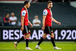 16-08-2018 NED: UEFA Europa Cup League Feyenoord vs. AS Trencin, Rotterdam<br /> Third Qualifying Round, Steven Berghuis #19 of Feyenoord, Jan-Arie van der Heijden #6 of Feyenoord
