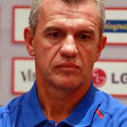 NLD/Amsterdam/20070801 - Persconferentie LG Amsterdam Tournament 2007,  coach Javier Aguirre