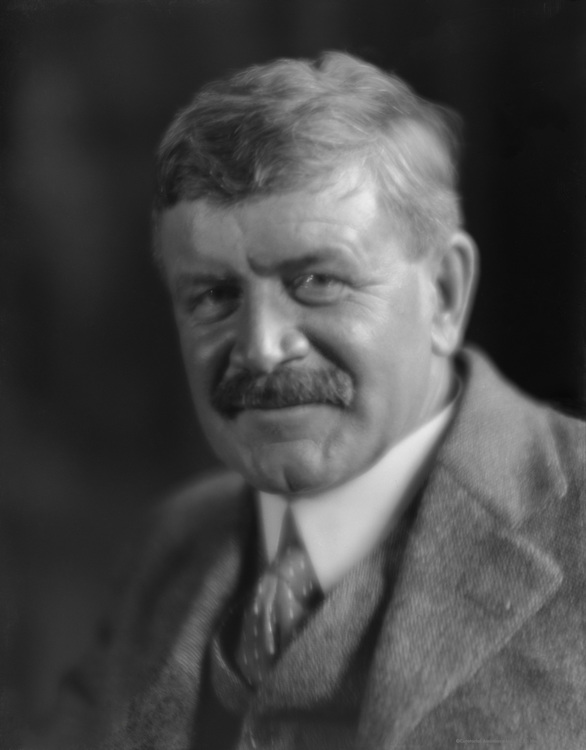 Stephen Leacock, Canadian Author and Humourist, 1921