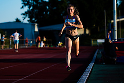 Marusa Mismas competes in Women's 1500m run during day one of the 2020 Slovenian Cup in ZAK Stadium on July 4, 2020 in Ljubljana, Slovenia. Photo by Grega Valancic / Sportida